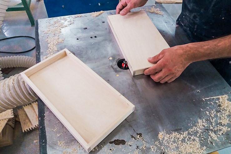 Изготовление деревянных футляров и шкатулок на заказ