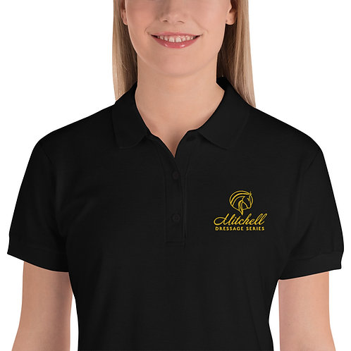 MDS Embroidered Women's Polo Shirt
