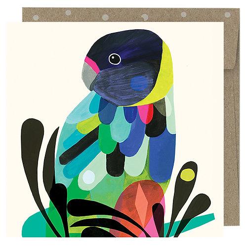 Mini Card - Twenty Eight Parrot