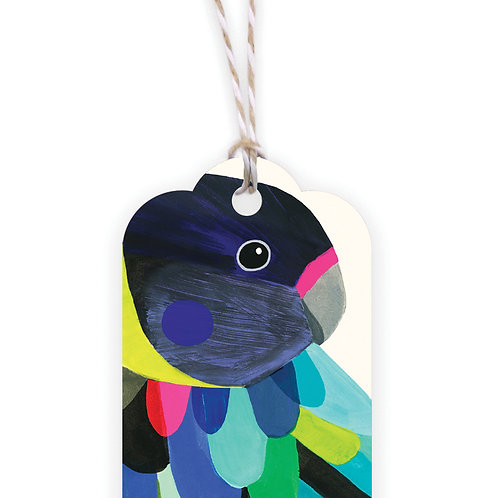 Gift Tag - Twenty Eight Parrot