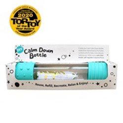 DIY calm down bottle - Mint