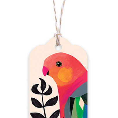 Gift Tag - King Parrot