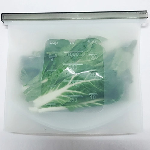 Silicone bag 1000ml