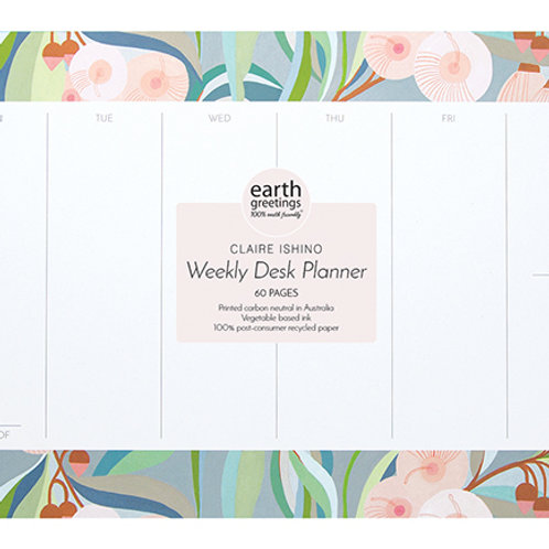 Weekly Desk Planner - In The Backyard