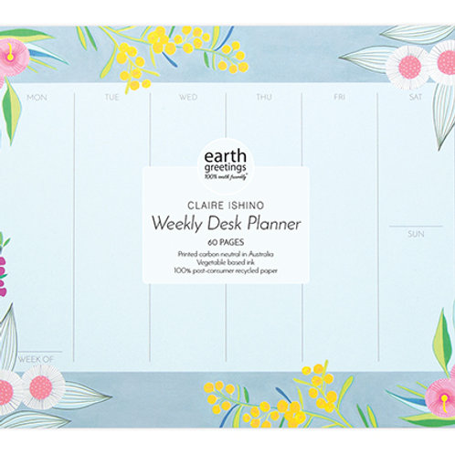 Weekly Desk Planner - Rich and Rare