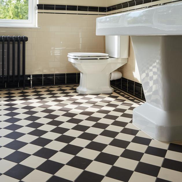 Art Deco Edwardian Bathroom