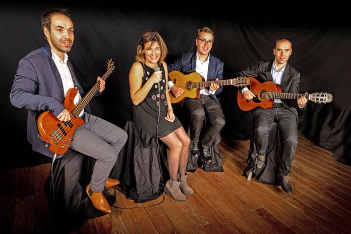 Guitario et Anne Laure Brévier