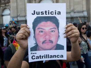 Chile police officer sentenced for killing of Mapuche farmer on 'historic day'