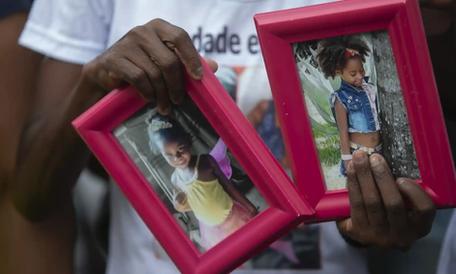 Killing of two girls stokes outrage over Brazil's horrific toll of black lives