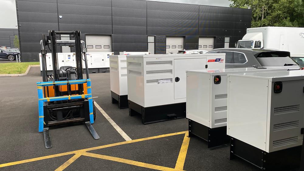 UK Designed & Manufactured Diesel Generators
