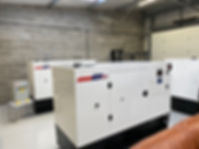 White Perkins generators manufactured by Prime Power Solution