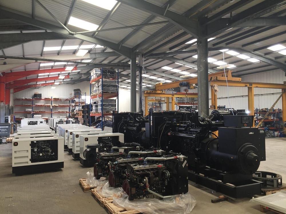 Perkins Stamford Diesel Generators - Designed & Manufactured in the United Kingdom