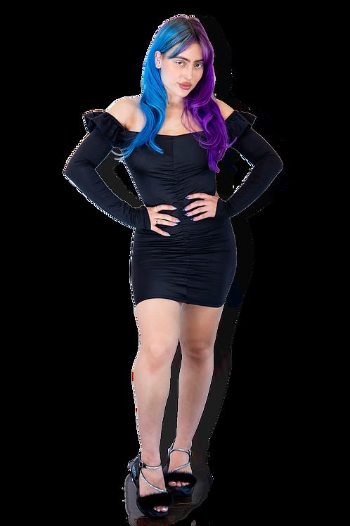 """Back 2 Basic"" Mini Dress"