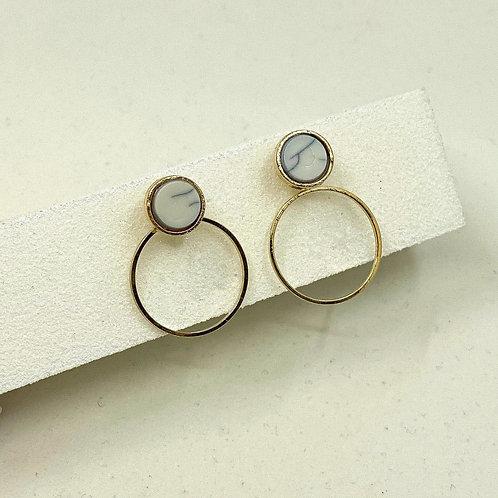 Modern Day Monalisa Earrings