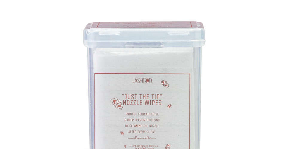 """JUST THE TIP"" NOZZLE WIPES"