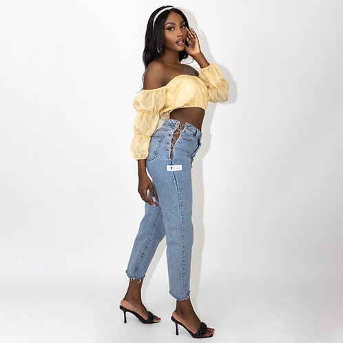 Giving You The Cold Shoulder Top