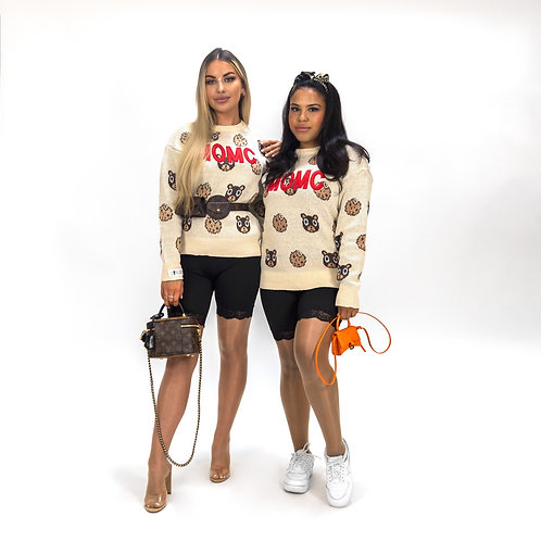 Demented Maxi MOMC Knitted Crewneck
