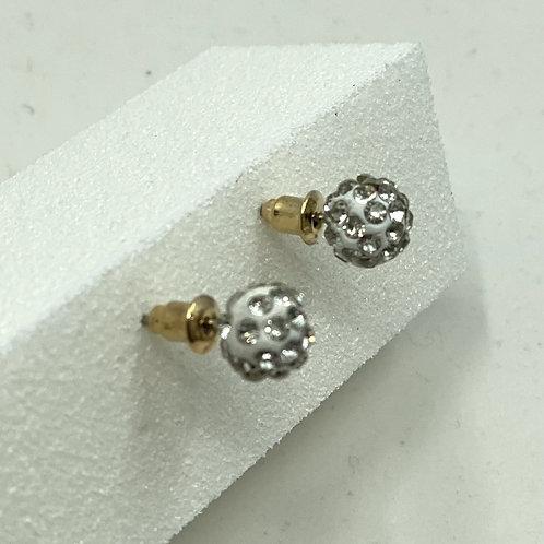 Crystal Ball Studded Earrings