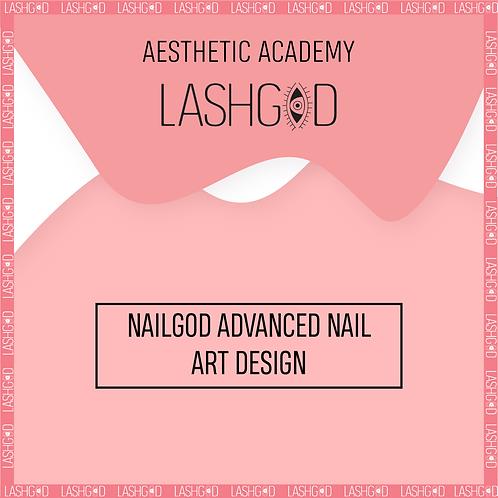 NAILGOD ™ ADVANCED NAIL ART DESIGN COURSE deposit