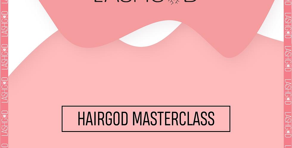 HAIRGOD MASTERCLASS (deposit)