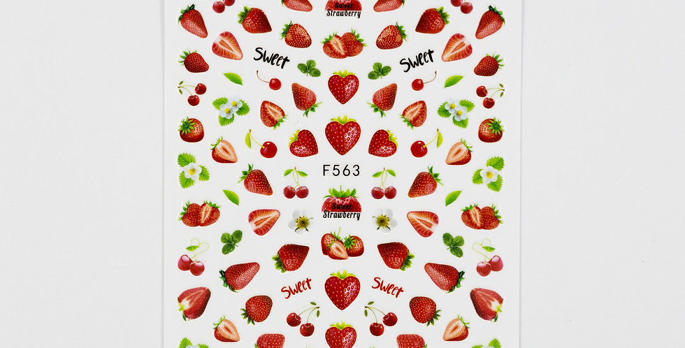 Strawberry Sticker #32