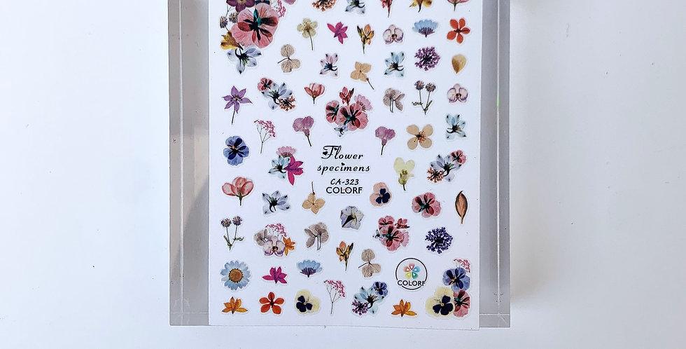 Flower Pattern Sticker #2