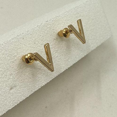 No. 5 Earrings