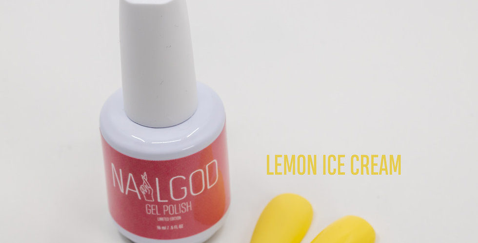 """LEMON ICECREAM"" Gel Polish"