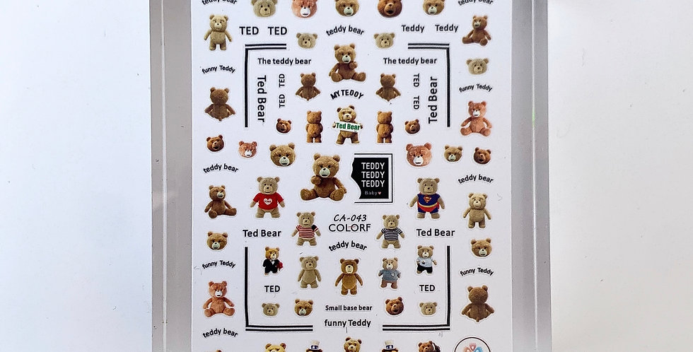 My Teddy Sticker #12