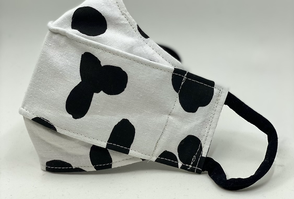 COTTON COW PRINTED MASK