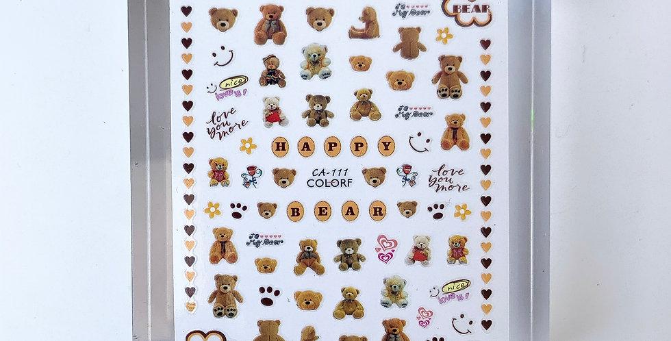 My Teddy Sticker #18