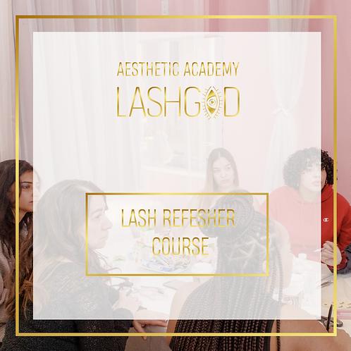 LASHGOD ™ LASH REFRESHER COURSE (DEPOSIT)