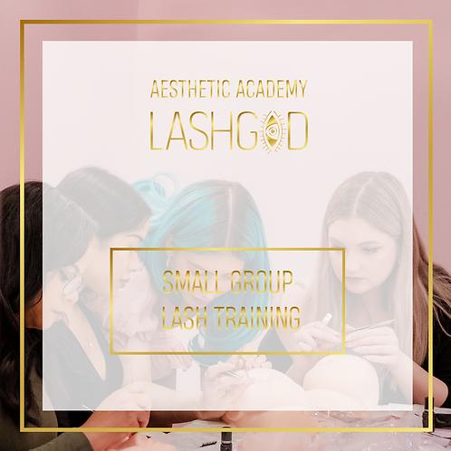 LASHGOD™ SMALL GROUP LASH TRAINING