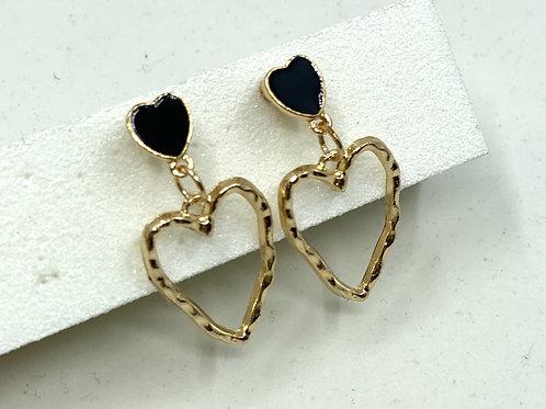 E-Girl Heart Earrings