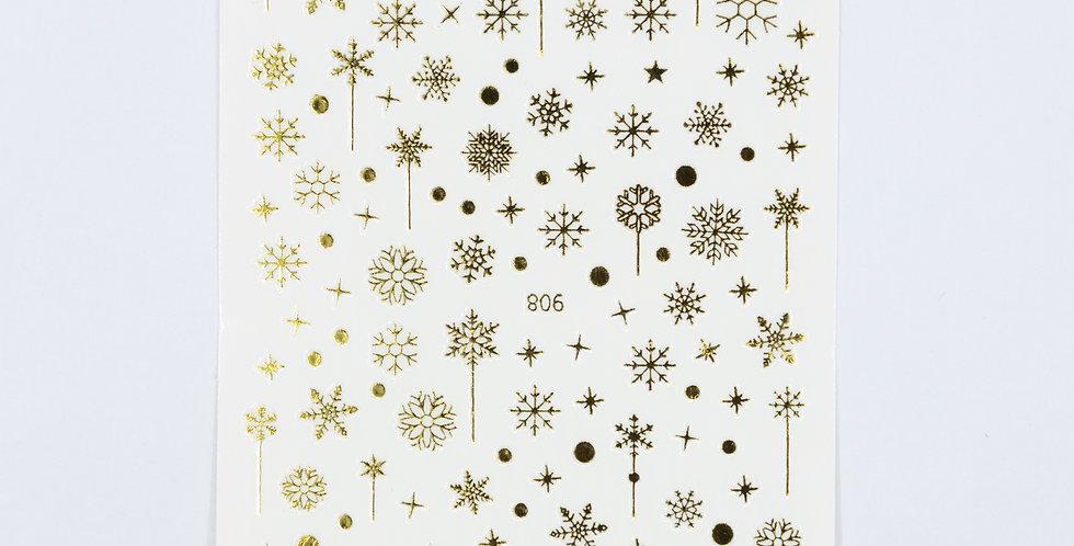 Snow Flake Sticker #27