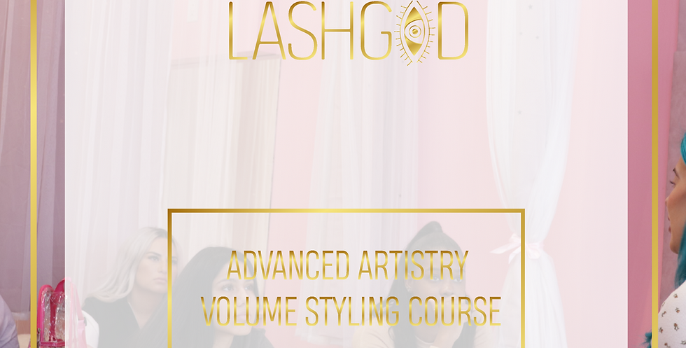 LASHGOD™ ADVANCED ARTISTRY VOLUME STYLING COURSE