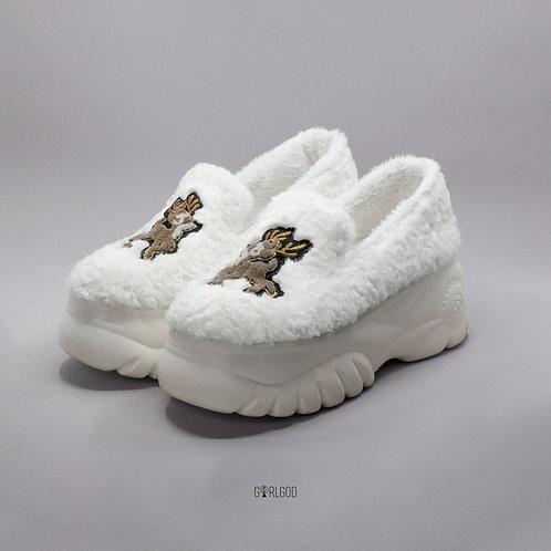 Oh Deer Platforms In WHITE