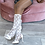 Thumbnail: Angel Garden Lace Knee-high Cut Out Socks
