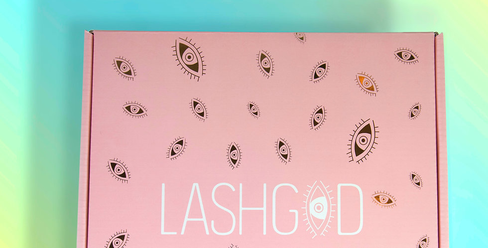 ONE MONTH LASHGOD MYSTERY MONTHLY SUBSCRIPTION BOX