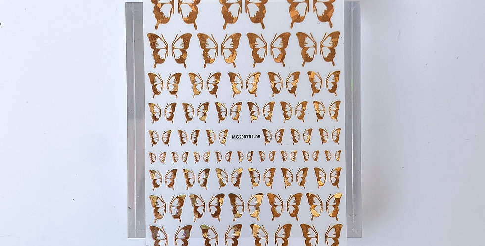 Butterfly Hologram Sticker #1