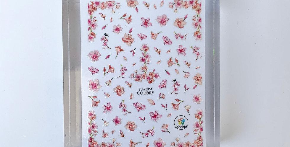 Floral Pattern Sticker #6