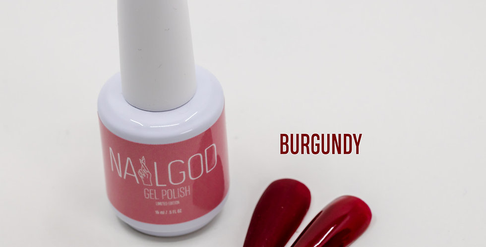 """BURGUNDY"" Gel Polish"