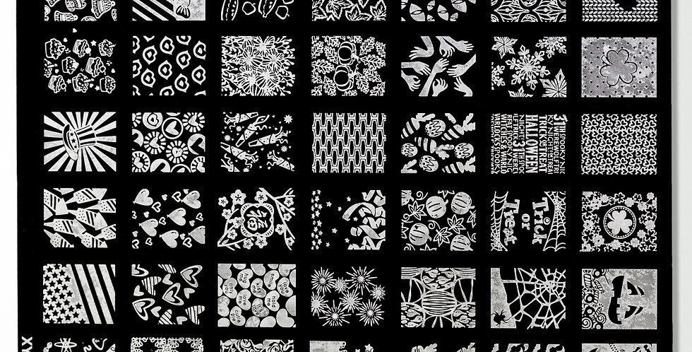 Pattern Stamper Design Nail Plate