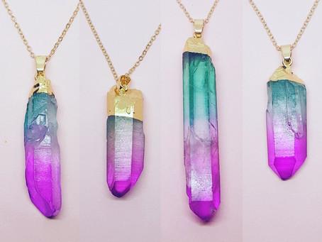 The power of quartz healing jewellery