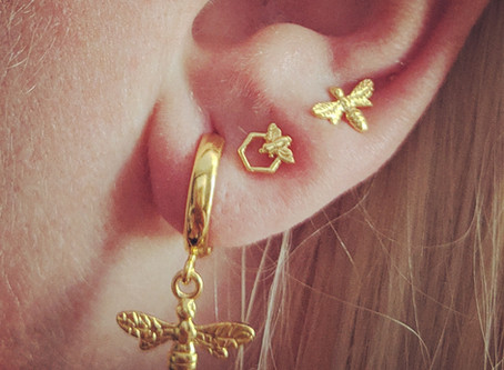 The curated ear trend.
