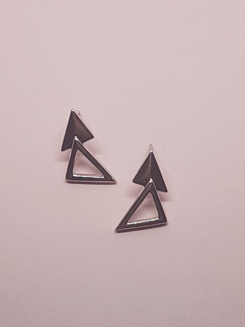 Helvellyn Silver Stud Earrings