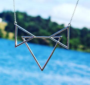The Three Peaks pendant.