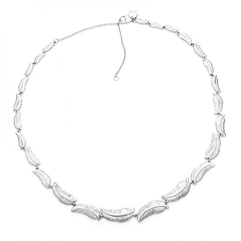 Rachel Galley Ocean Plume Necklace