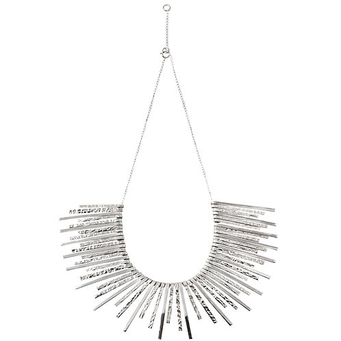Chris Lewis Symmetrical Day Statement Necklace
