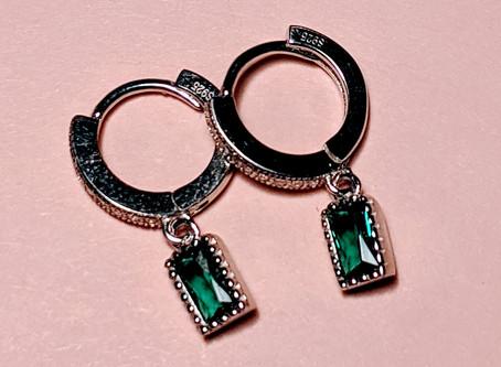 New hoop earrings collection.